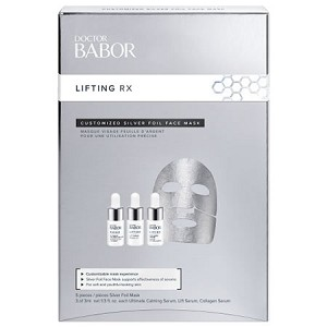 DOCTOR BABOR Lifting Rx Customized Silver Foil Mask (5 pcs)