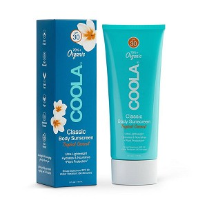 COOLA Classic Body Organic Sunscreen Broad Spectrum SPF 30 - Tropical Coconut (5.0 fl oz / 148 ml)