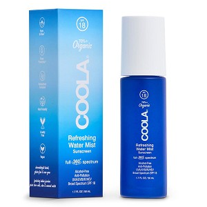 COOLA Full Spectrum 360 Refreshing Water Mist Organic Face Sunscreen SPF 18 (1.7 fl oz / 50 ml)