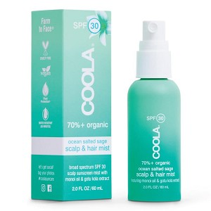 COOLA Scalp & Hair Mist Organic Sunscreen SPF 30 (2.0 fl oz / 60 ml)