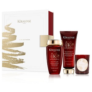 KERASTASE PARIS [Aura Botanica] Candle Gift Set [Limited Edition, $88 Value] (set)