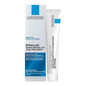 La Roche-Posay Effaclar Adapalene Gel 0.1% Acne Treatment (45 g)