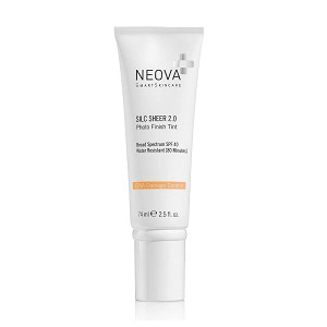 Neova DNA Damage Control SILC SHEER 2.0 Broad Spectrum SPF 40 (Tinted) (2.5 oz) (Formerly known as DNA Damage Control Silc Sheer SPF 45)