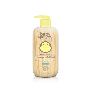 Sun Bum Baby Bum Shampoo & Wash Gel [Natural Fragrance] (12 fl oz / 355 ml)
